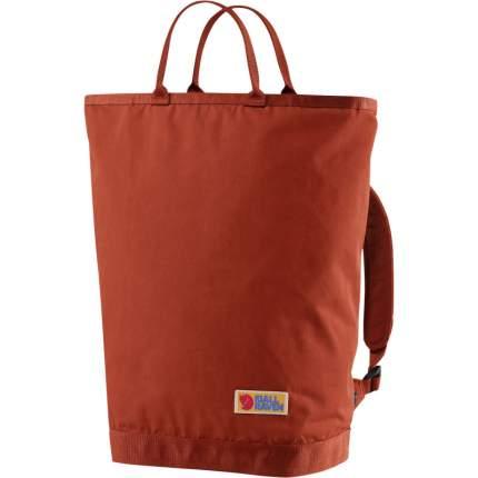 Рюкзак мужской Fjallraven Vardag Totepack красный
