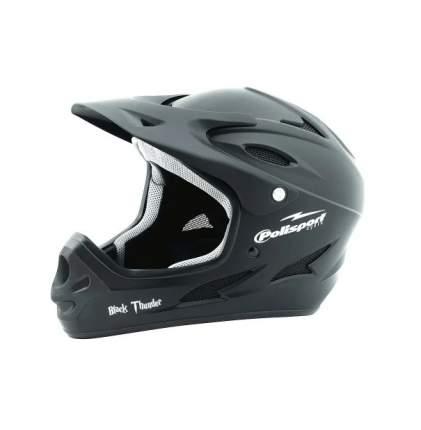 Велосипедный шлем Polisport Downhill, black thunder, M