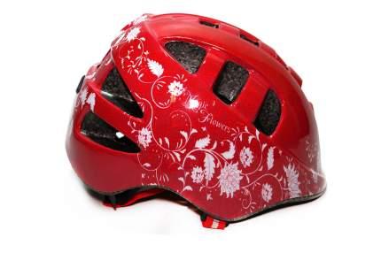 VINCA SPORT Шлем велосипедный Magic Flowers VSH 8 Vinca Sport красный 48-52