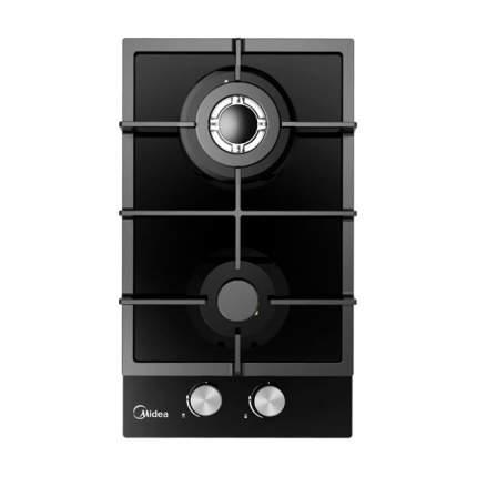 Встраиваемая газовая панель Midea MG3260TGB Black