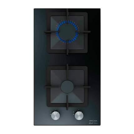 Встраиваемая газовая панель Krona CALORE 30 BL Black