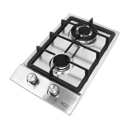 Встраиваемая газовая панель RICCI HBS2301 Silver