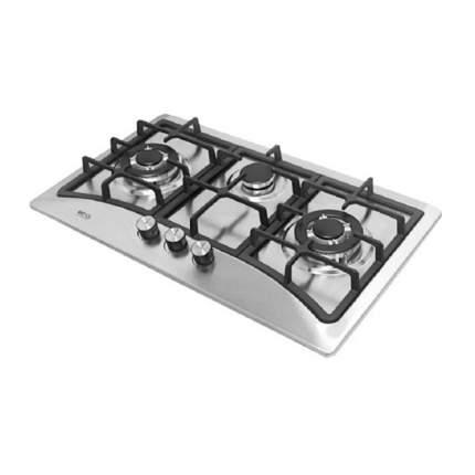 Встраиваемая газовая панель RICCI HBS3701 Silver
