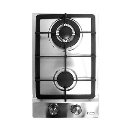 Встраиваемая газовая панель RICCI HBS2301D Silver