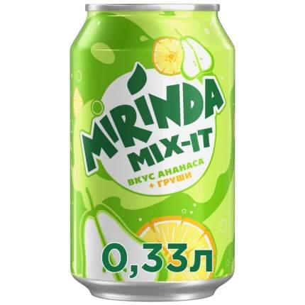 Mirinda Mix-It Газированный напиток Ананас-Груша 330 мл