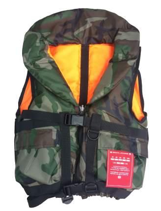 Жилет спасательный Captain 100 кг камуфляж ГИМС
