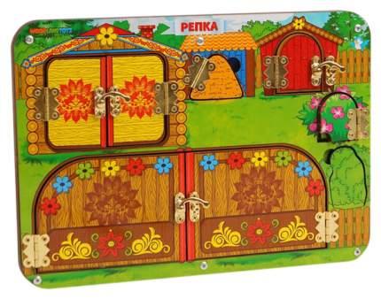 "Бизиборд ""Репка"" (рамка-вкладыш)    112106 Woodland (Сибирский сувенир)"