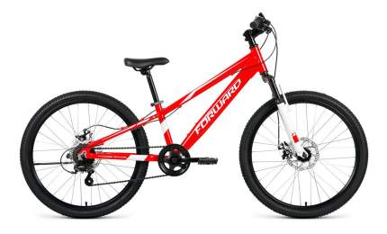 "Велосипед Forward Rise 24 2.0 Disc 2020 11"" red/красный"