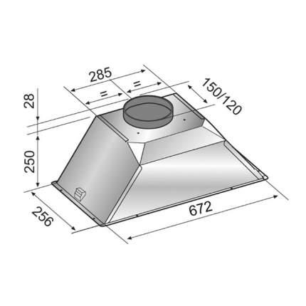 Вытяжка встраиваемая Zigmund-Shtain K 376.71 B Black