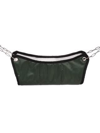 Гамак для хорьков и мелких грызунов Монморанси Шустрик, темно-зеленый, 30х30 см