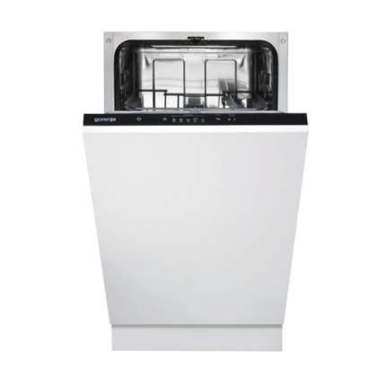 Встраиваемая посудомоечная машина 45 см Gorenje GV52010 White