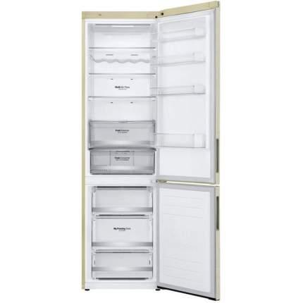 Холодильник LG GA-B509CEDZ DoorCooling+ Beige