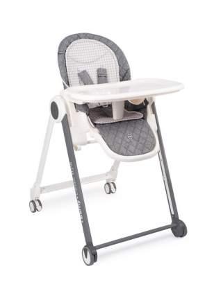 Стульчик для кормления Happy Baby Berny Basic New, до 25 кг, темно-серый
