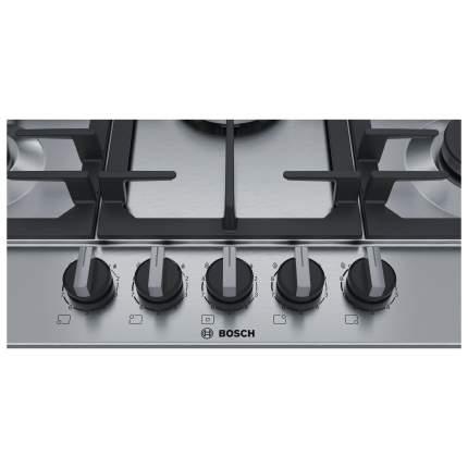 Встраиваемая варочная панель газовая Bosch PCQ7A5B90 Silver