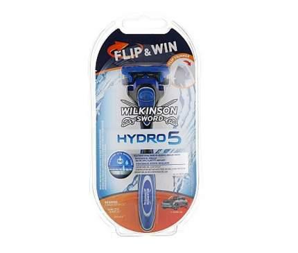 Станок бритвенный Hydro 5 Flip&Win с 1 кассетой и подставкой