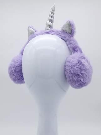 Наушники утепленные Единорог с ушками MM07853 фиолетовые