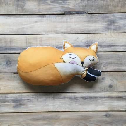 Подушка-игрушка VamVigvam Спящий Лисенок 35х20 см