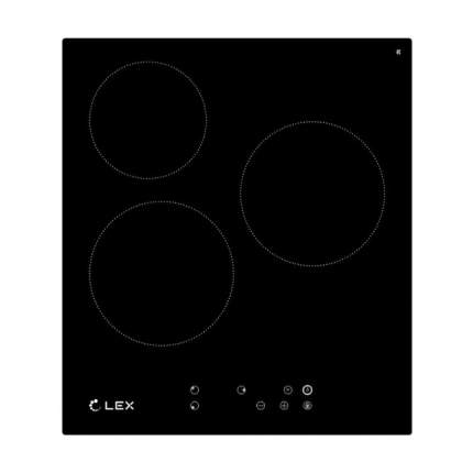 Встраиваемая электрическая панель Lex EVI 430 BL Black