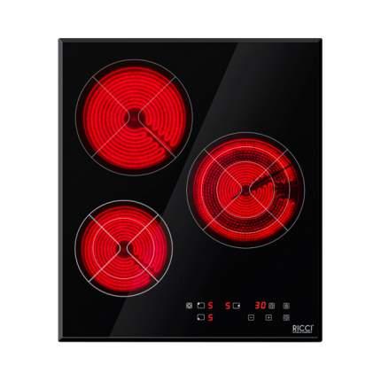 Встраиваемая электрическая панель RICCI DTL-D3500145B Black