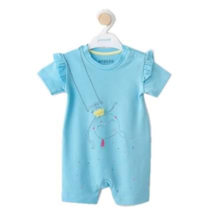 Песочник для девочек AYDODO, цв. голубой; зеленый, р-р 68