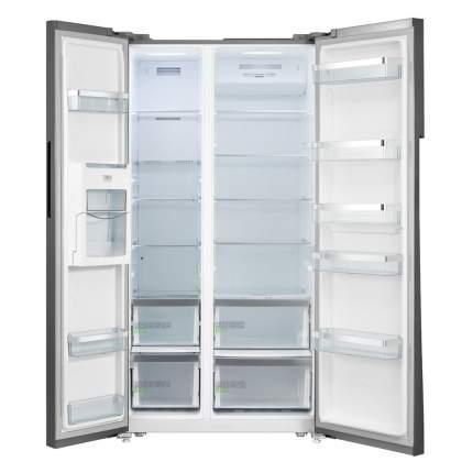 Холодильник Midea MRS518WFNX Silver