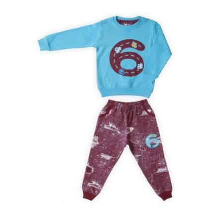 Комплект для мальчиков Ciggo, цв. голубой; зеленый, р-р 98