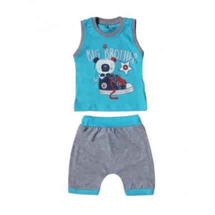 Комплект для мальчиков Ciggo, цв. голубой; зеленый, р-р 62