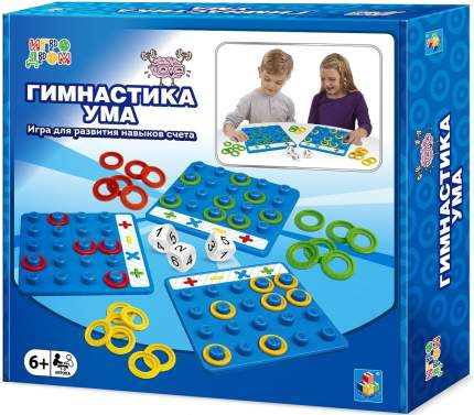 Настольная игра Гимнастика ума 1 Toy Т16693