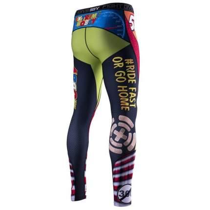 Компрессионные штаны Extreme Hobby Speed разноцветные, XL, 190 см