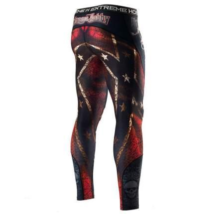 Компрессионные штаны Extreme Hobby Moto Rebel разноцветные, XL, 190 см