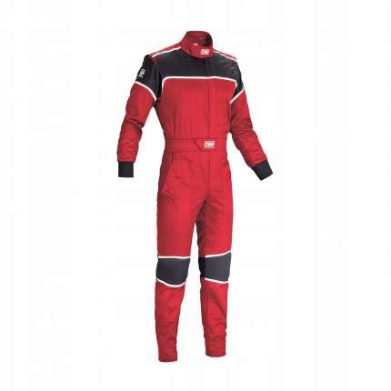Комбинезон механика BLAST, красный/черный, р-р 50 OMP Racing NB157806150