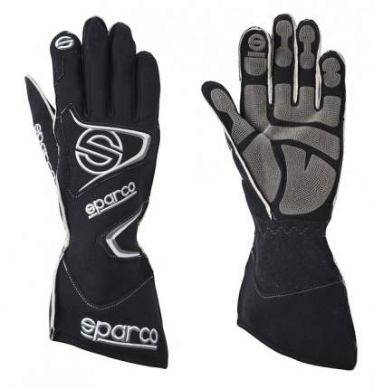 Перчатки для автоспорта (FIA) TIDE RG-9, черный, р-р 08 Sparco 00135508NR