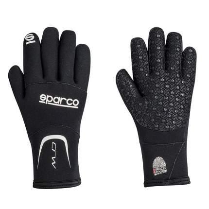 Перчатки для картинга CRW, неопрен (дождь), черный, р-р M Sparco 00258NR2M