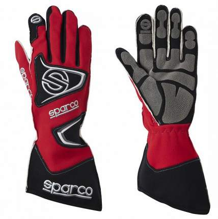 Перчатки для автоспорта (FIA) TIDE RG-9, красный, р-р 09 Sparco 00135509RS
