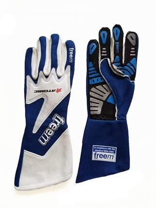 Перчатки для автоспорта (FIA) TAKTO ATOMIC, синий р-р 7 Freem AG0001C.GNT7