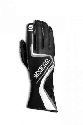 Перчатки для картинга RECORD, чёрный/белый/серый, р-р 8 Sparco 00255508NRBI