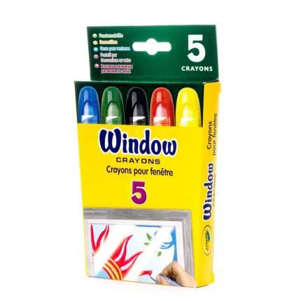 Восковые мелки Crayola для рисования на окнах