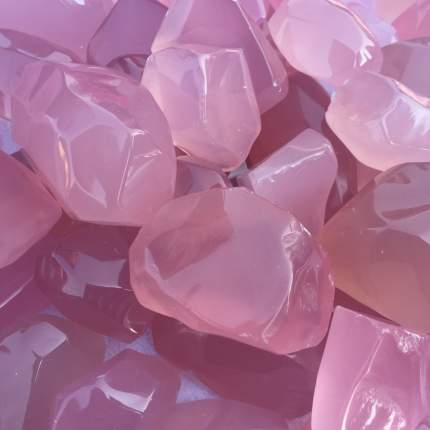 Декоративные камни Edelman 348961 розовый 1 кг