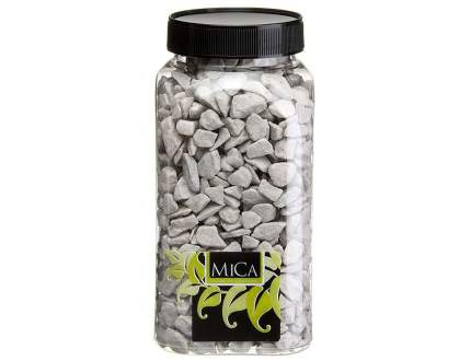 Декоративные камни Edelman 348954 серебристый 1 кг