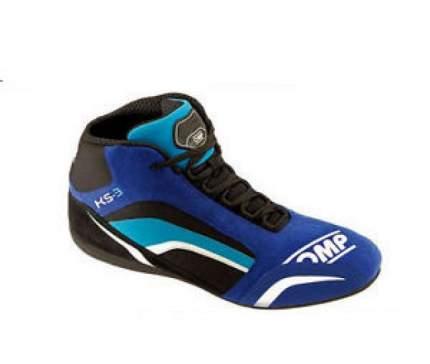 Ботинки для картинга KS-3, синий/черный/голубой, р-р 33 OMP Racing IC/81324133