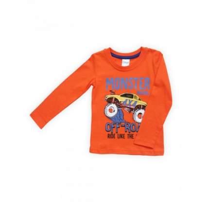 Джемпер для мальчиков Bella veza, цв. оранжевый, р-р 104