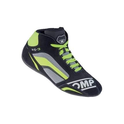 Ботинки для картинга KS-3, черный/зелёный/жёлтый, р-р 37 OMP Racing IC/81337437
