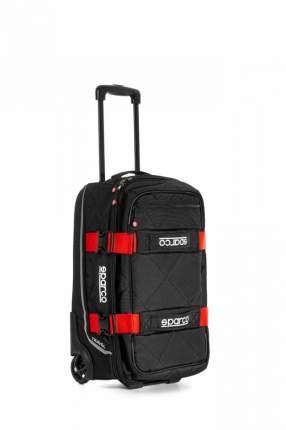 Сумка для экипировки TRAVEL, 3 кг, 25x55x35 см, чёрный/красный Sparco 016438NRRS