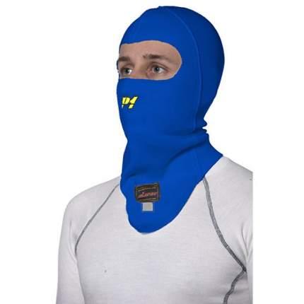 Подшлемник/балаклава для автоспорта, FIA, синий, один размер P1 Racewear AA014AR