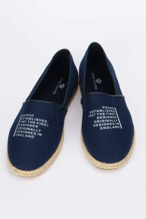 Эспадрильи женские Keddo 807130/01 синие 40 RU