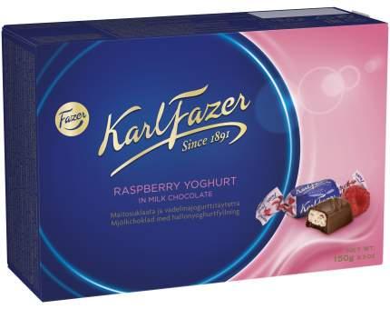 Шоколадные конфеты Karl Fazer с начинкой из малинового йогурта 150 г