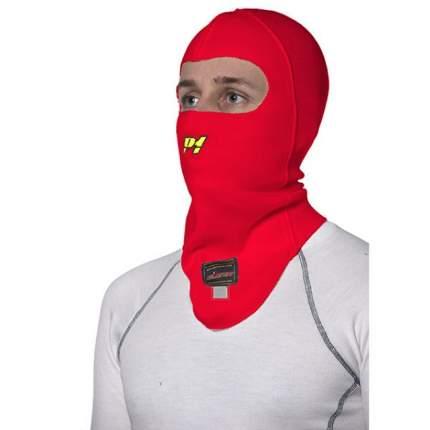 Подшлемник/балаклава для автоспорта, FIA, красный, один размер P1 Racewear AA014AF