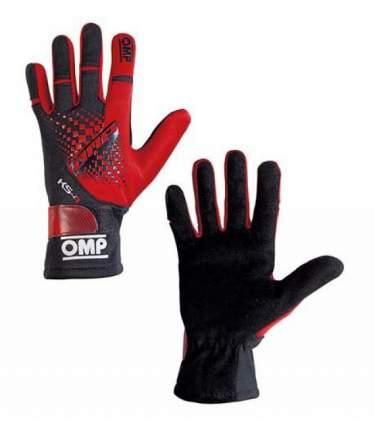 Перчатки для картинга KS-4 my2018, красный/чёрный, р-р XS OMP Racing KK02744E060XS