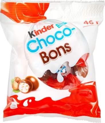 Конфеты Kinder шоко-бонс с молочно-ореховой начинкой 46 г
