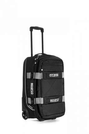Сумка для экипировки TRAVEL, 3 кг, 25x55x35 см, чёрный/серебристый Sparco 016438NRSI